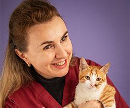 אליסה מנצרז' - טכנאית בכירה במרפאת וטרינרים בתל אביב