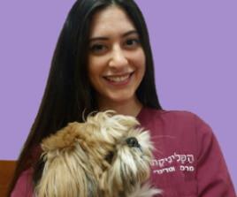 נועה שוורץ - צוות מרפאה וטרינרית בתל אביב